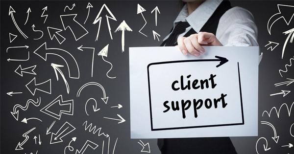 Support client Usenet newsgroup